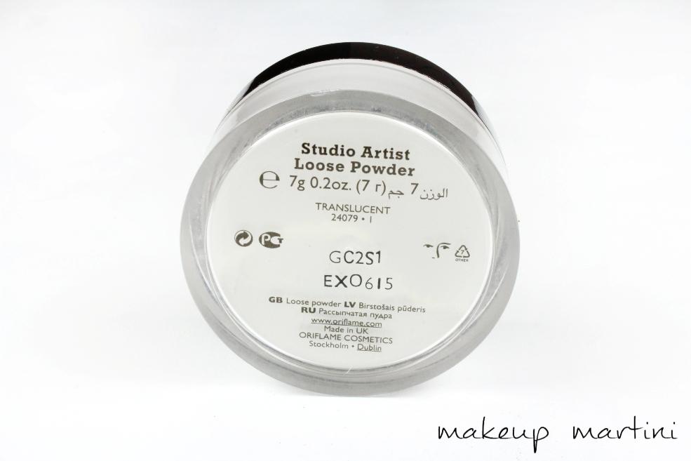 Oriflame Studio Artist Loose Powder Review