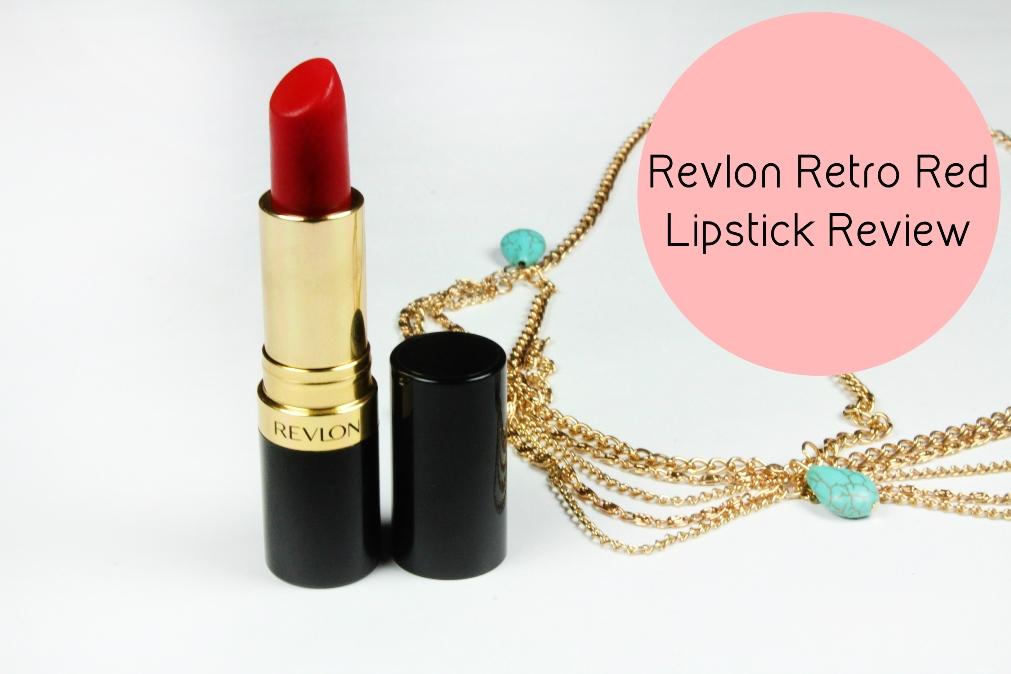 Revlon Retro Red Lipstick