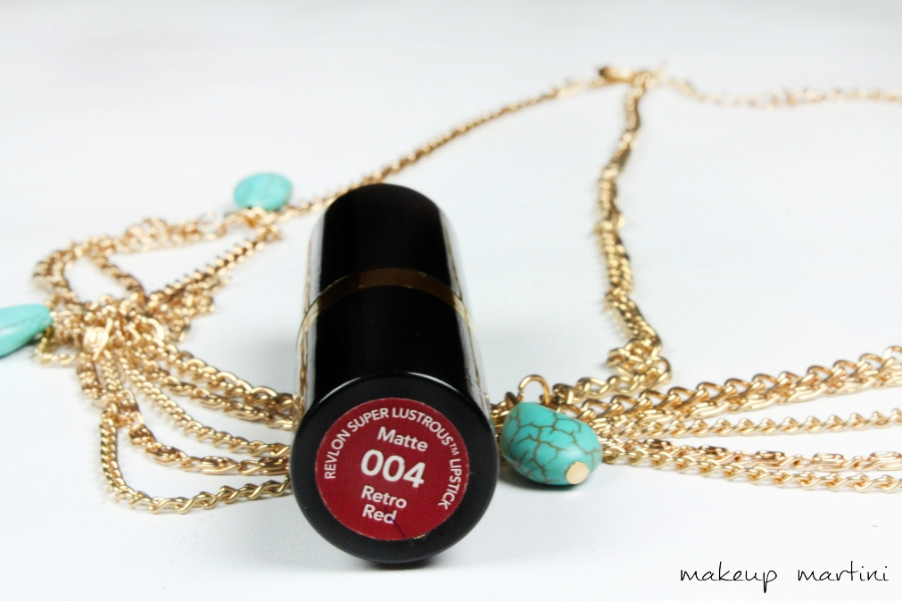 Revlon Retro Red Review Label
