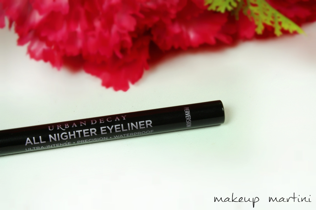 Urban Decay All Nighter Eyeliner in Perversion Review