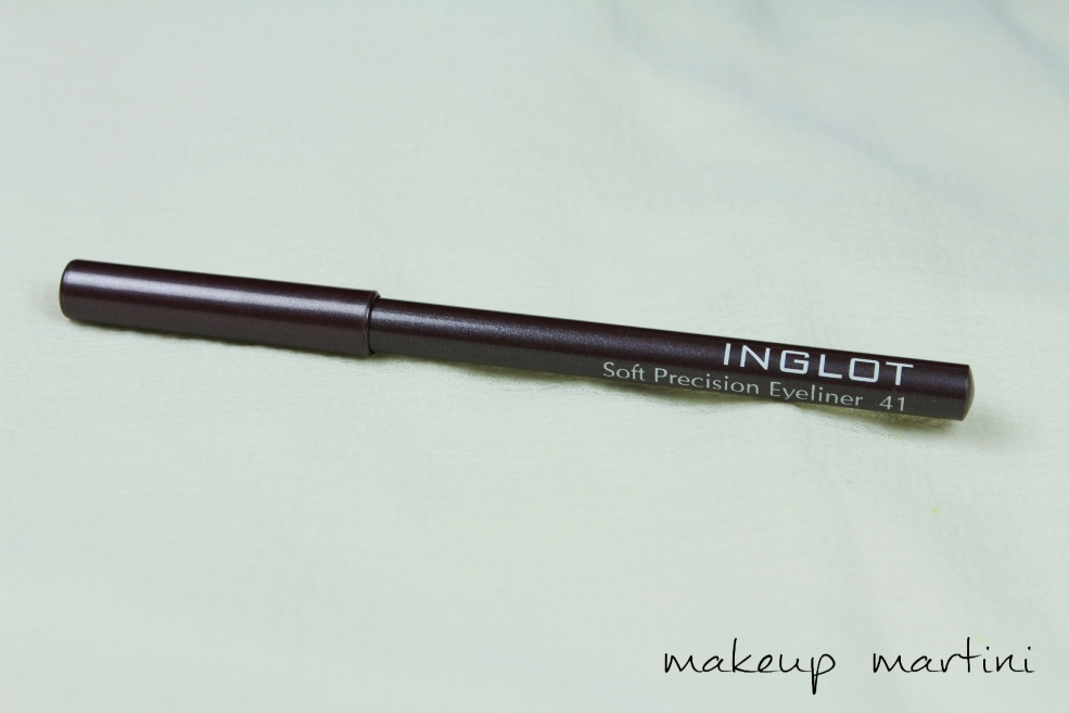 Inglot Soft Precision Eyeliner in 41 Review (2)