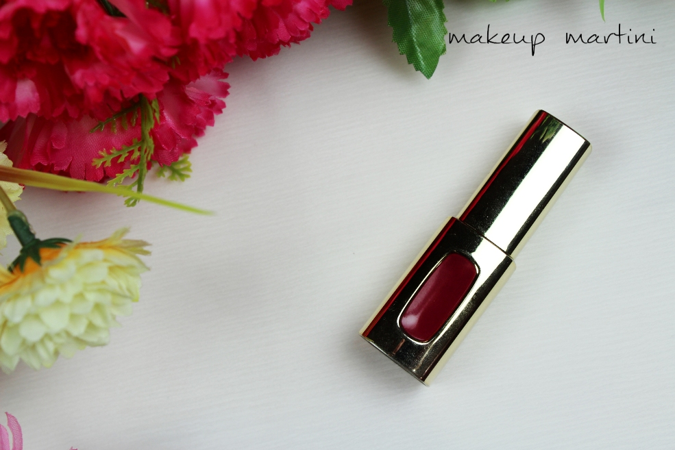 L'Oreal Extraordinaire Lip Color in Rouge Allegro Review