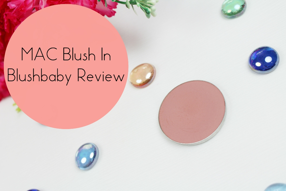 MAC Blush in Blushbaby Review