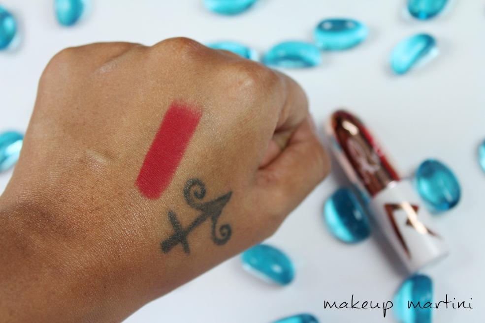 MAC Riri Woo Lipstick Swatch