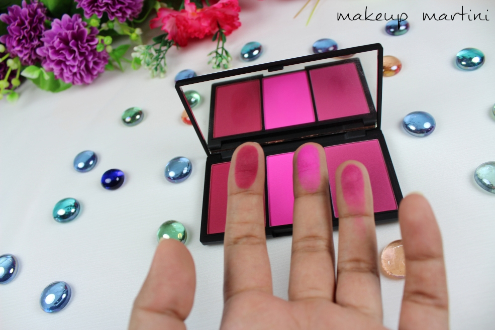 Sleek MakeUP Blush By 3 in Pink Sprint Swatch (4)