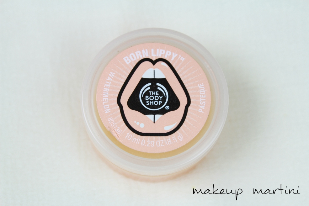 The Body Shop Born Lippy Watermelon Lip Balm Review (3)