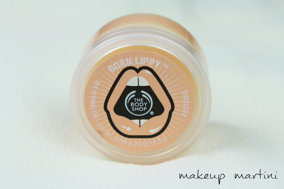 The Body Shop Born Lippy Watermelon Lip Balm Review (5)