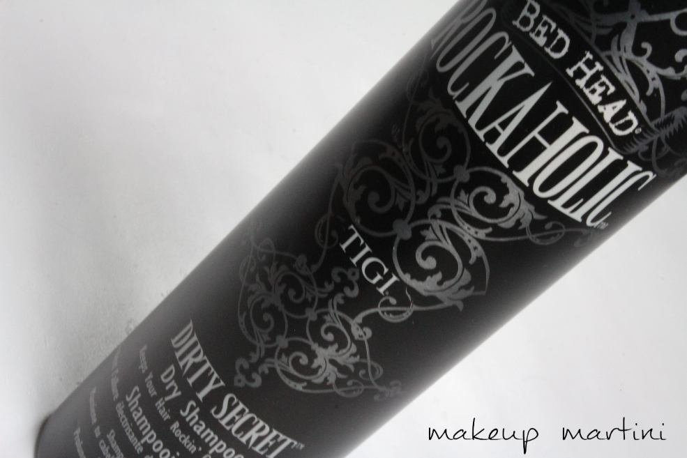 Tigi Bed Head Rockaholic Dirty Secret Dry Shampoo Review (2)