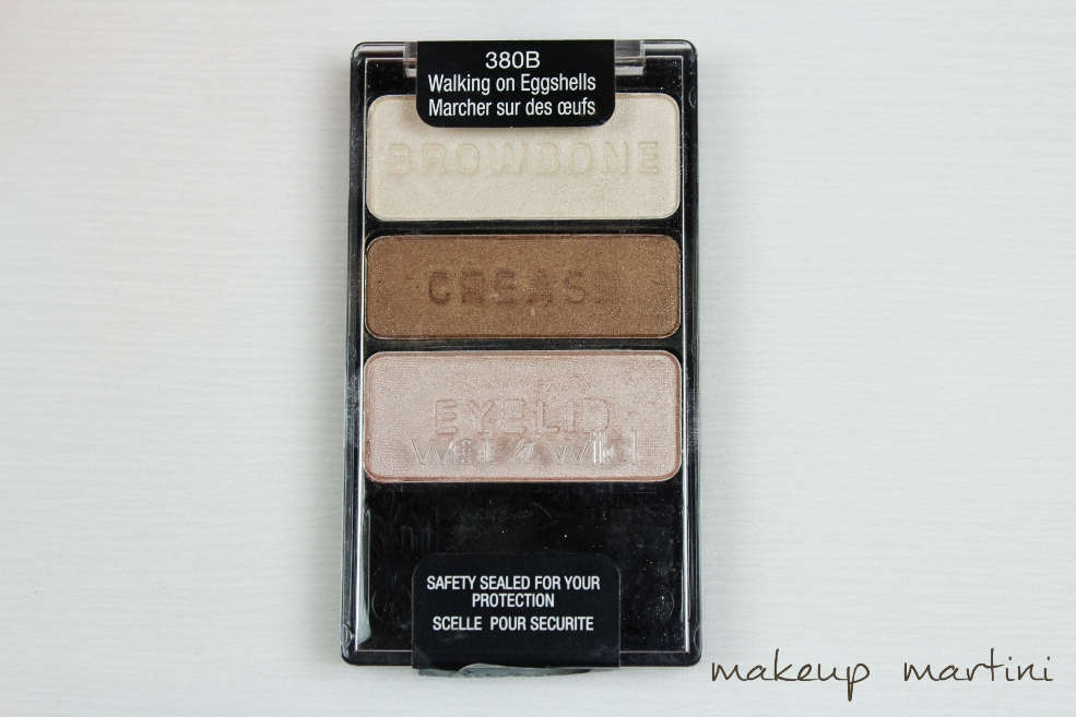 Wet n Wild Trio in Walking on Eggshells Review