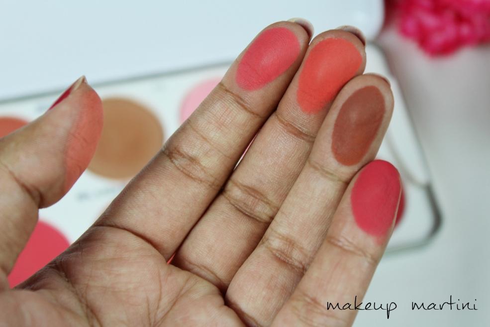 Cream Blusher Palette by kryolan #11