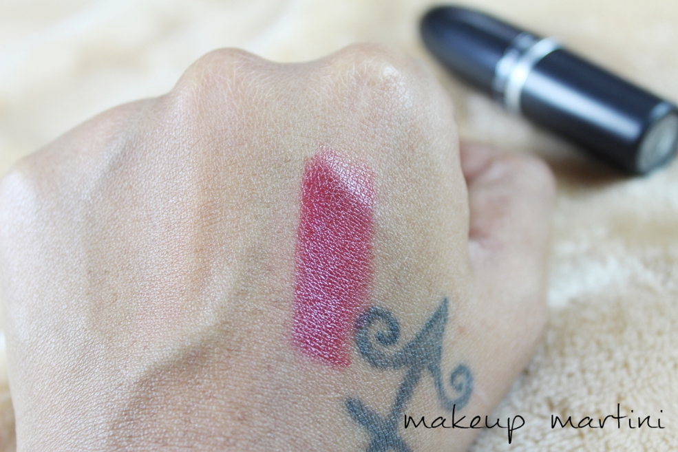 MAC Party Line Lipstick Review