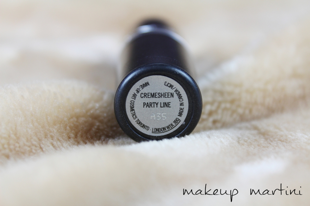MAC Party Line Lipstick Review, Dupe, Swatch & Price ...