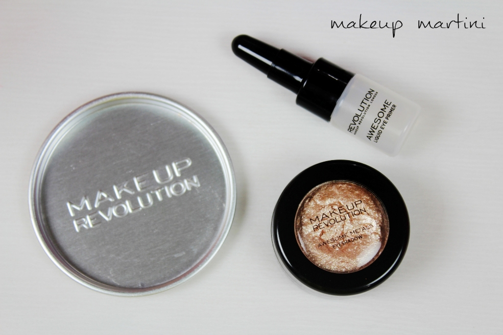 Makeup Revolution Awesome Metals Eye Foils Rose Gold Review (7)