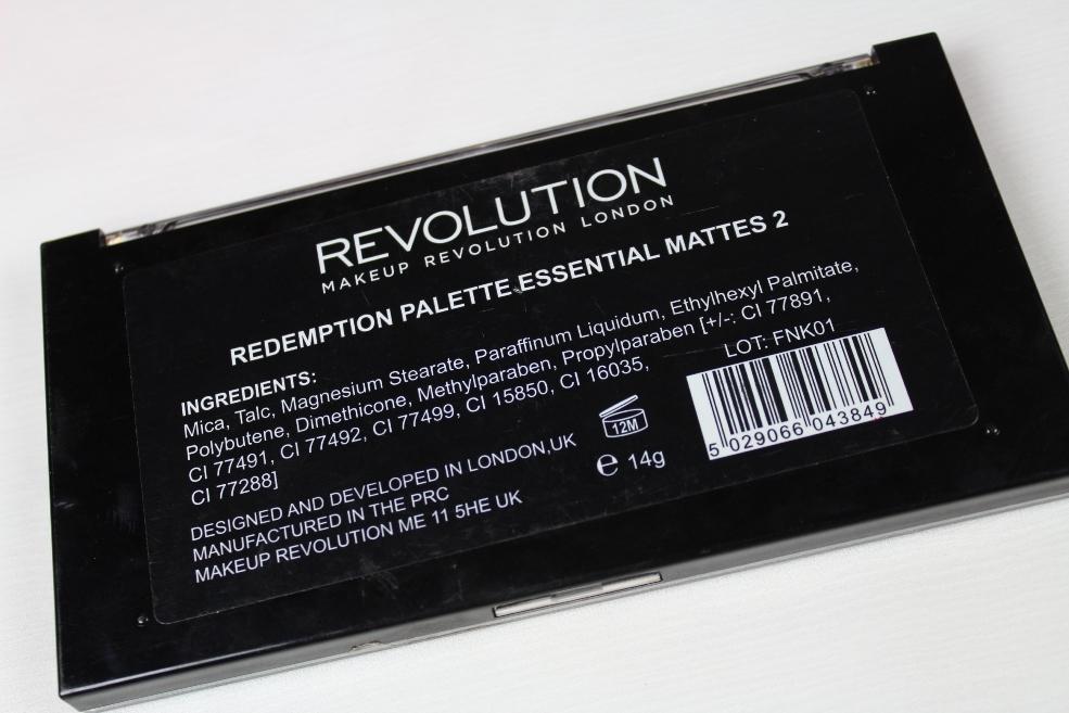 Makeup Revolution Mattes 2 Palette (1)