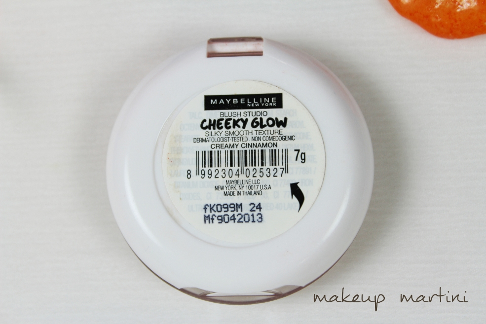 Maybelline Cheeky Glow in Creamy Cinnamon Review (5)