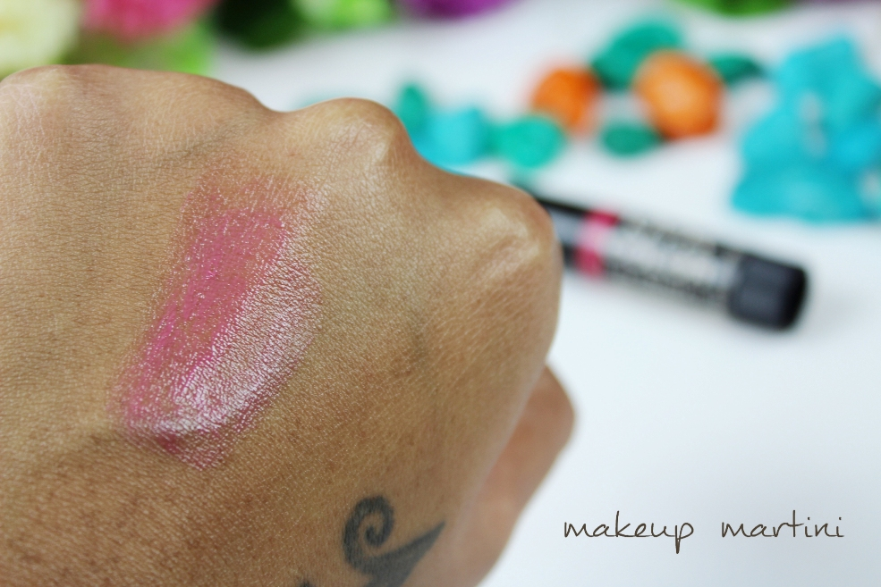 NYX Tinted Lip Balm in Asante Swatch