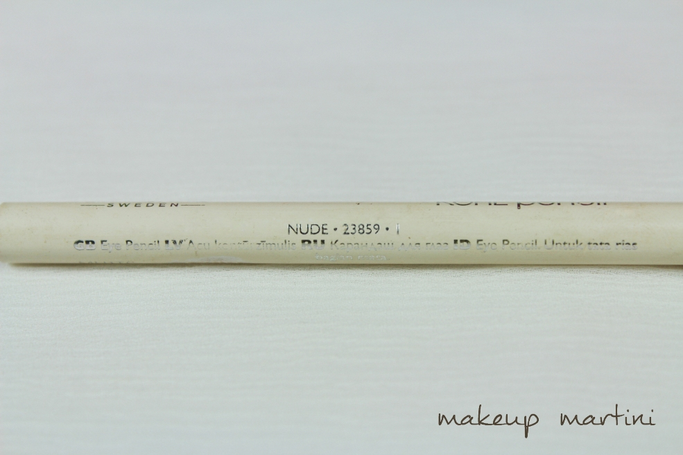 Oriflame Kohl in Nude Review  (2)