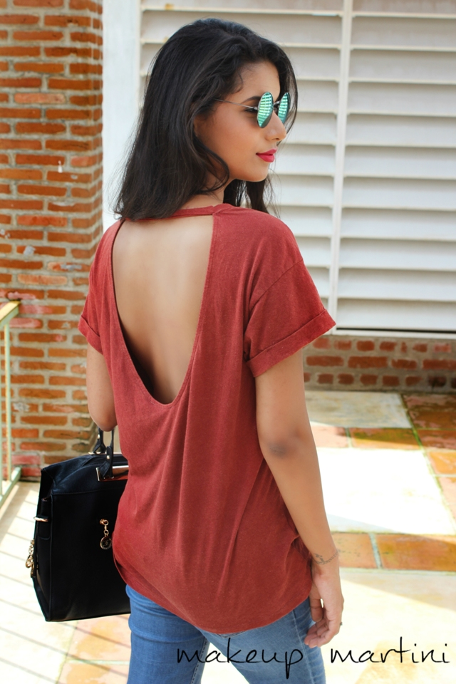 Backless Top OOTD