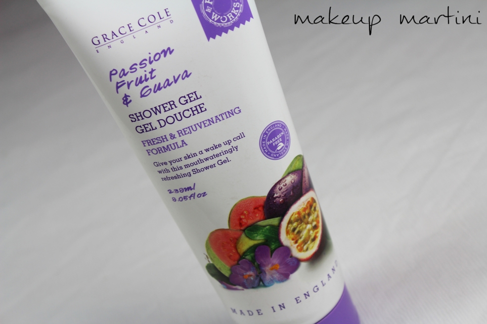 Grace Cole Passion Fruit and Guava Shower Gel Review (2)