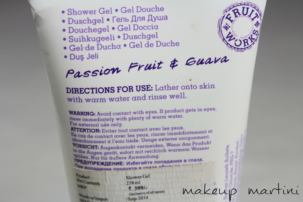 Grace Cole Passion Fruit and Guava Shower Gel Review (4)
