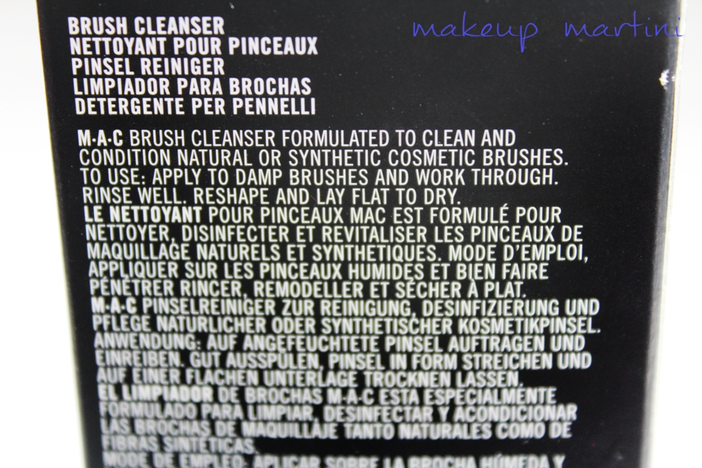 MAC Brush Cleanser Review (4)