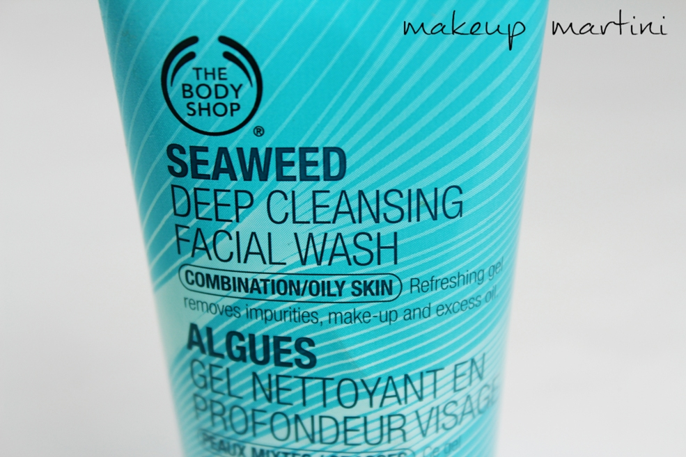 seaweed purifying facial cleanser review