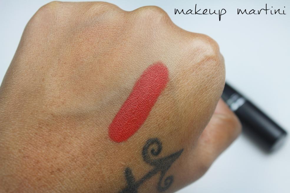 MAC Chili Lipstick Swatches