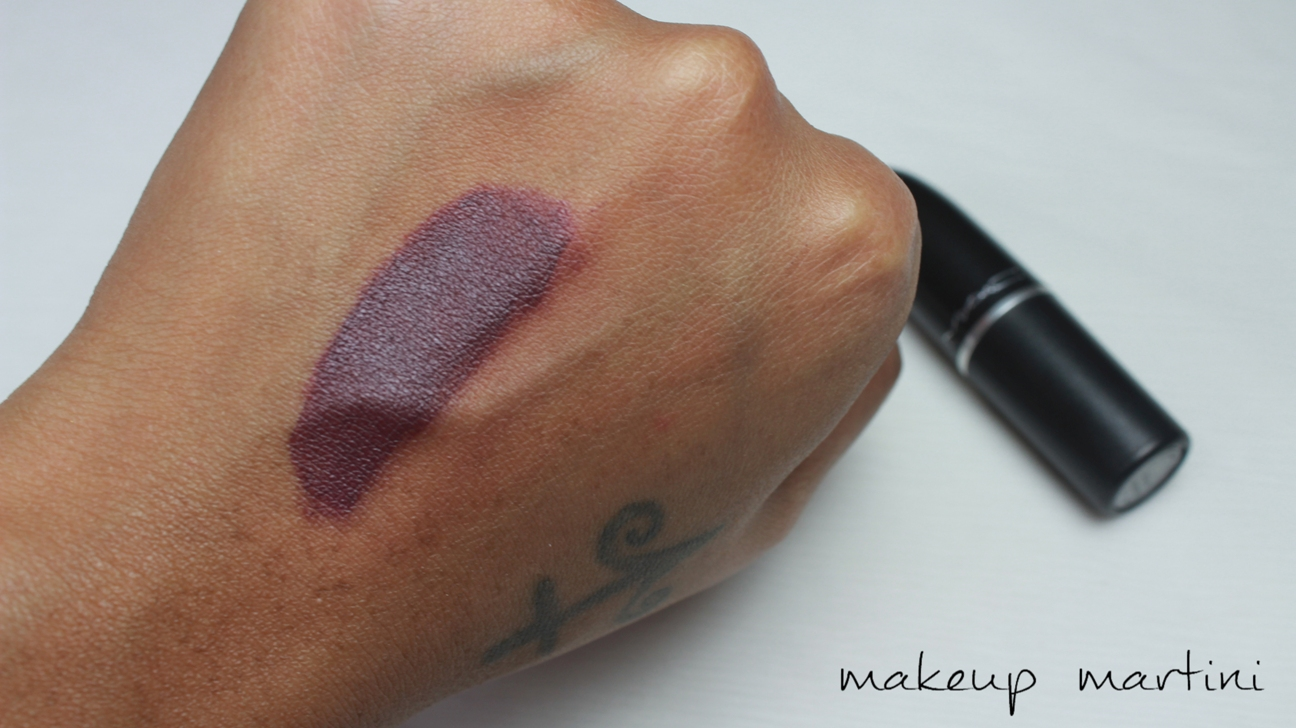 MAC Cyber Lipstick Swatch