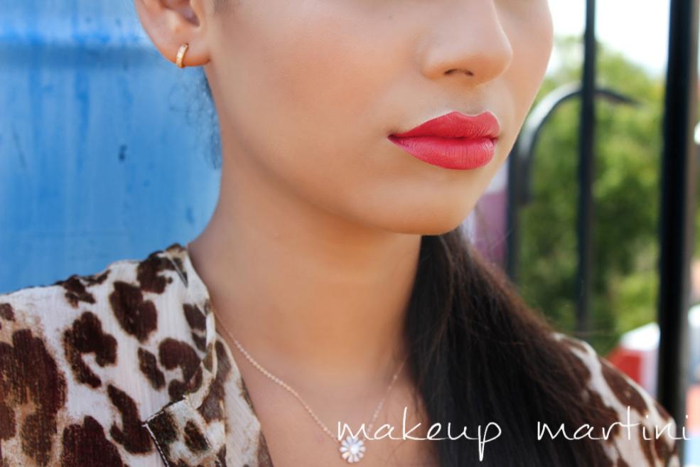 MAC MAC Red Lipstick Swatch