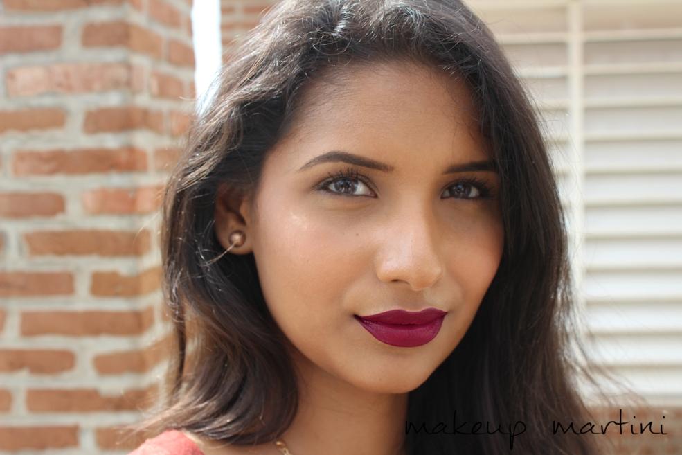 MAC Media Lipstick Swatch
