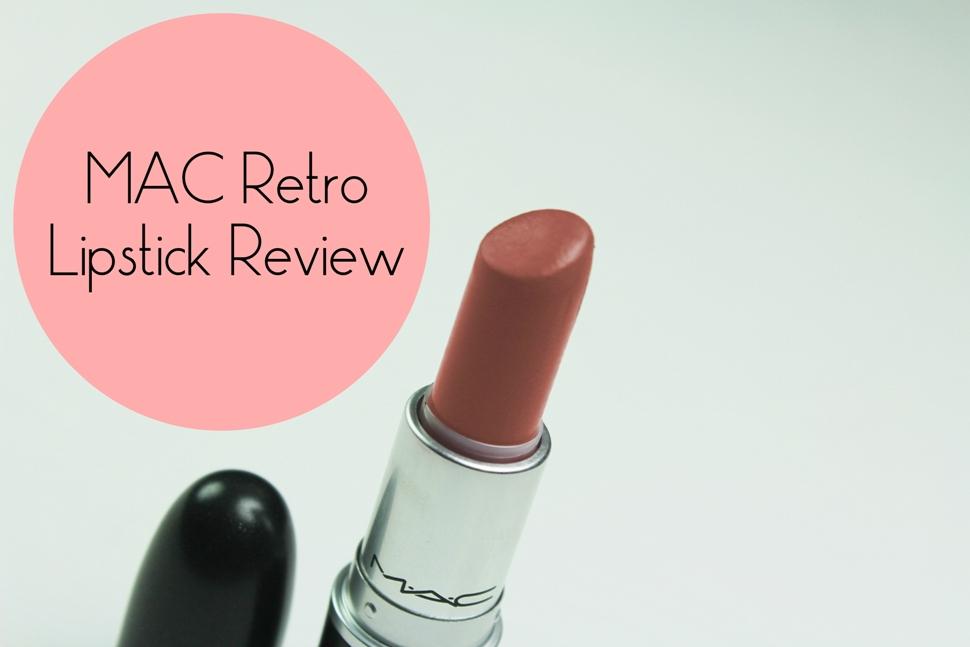 MAC Retro Lipstick Review (2)