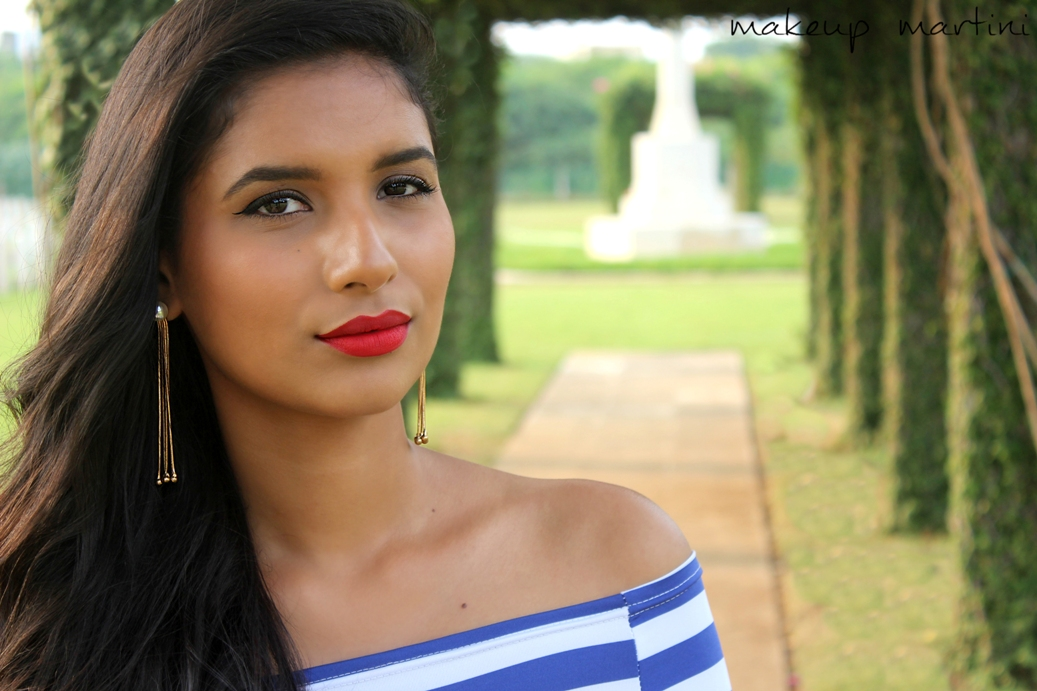 MAC Ruby Woo Lipstick Swatches