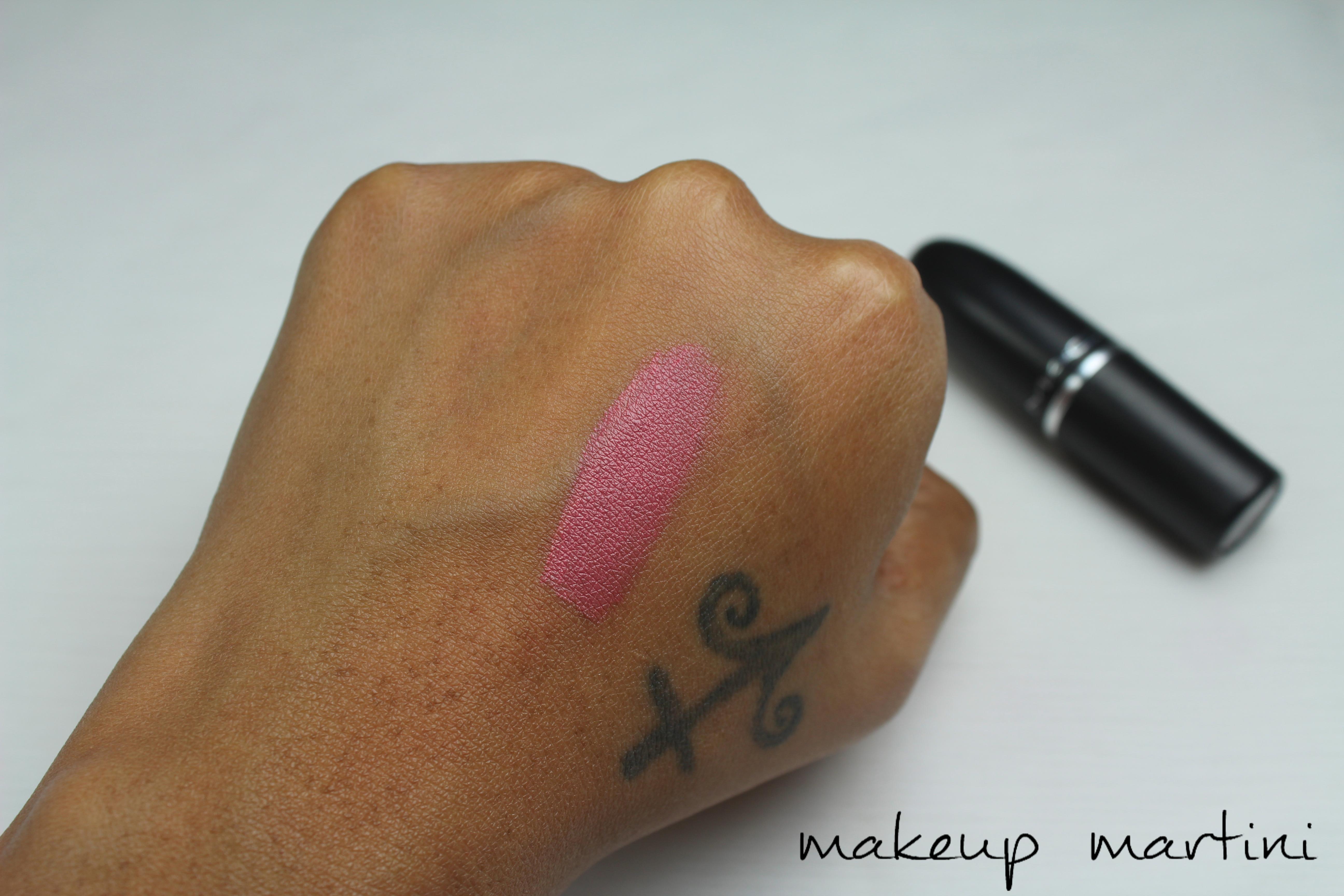 MAC Twig Lipstick Swatch