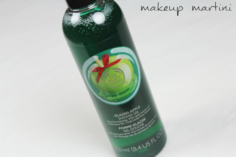 The Body Shop Glazed Apple Shower Gel