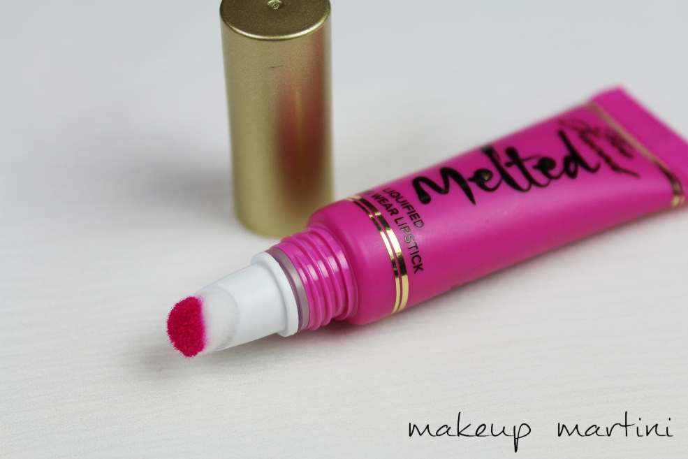 Too Faced Melted Liquified Lipstick in Melted Fuchsia