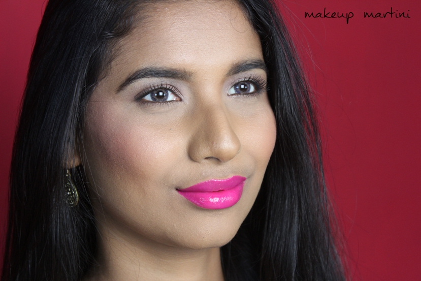Too Faced Fuschia Lipstick Review and Swatch