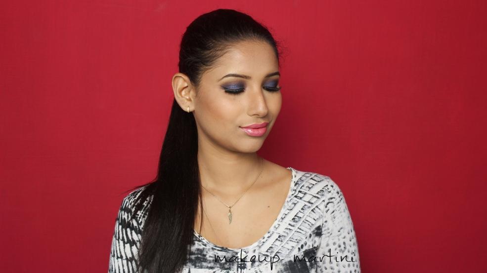 Clubbing Makeup Tutorial- Blue Smoky Eyes (3)