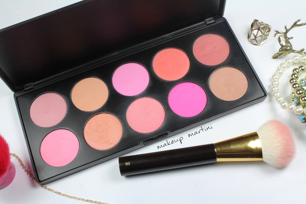 Coastal Scents 10 Blush Palette Review