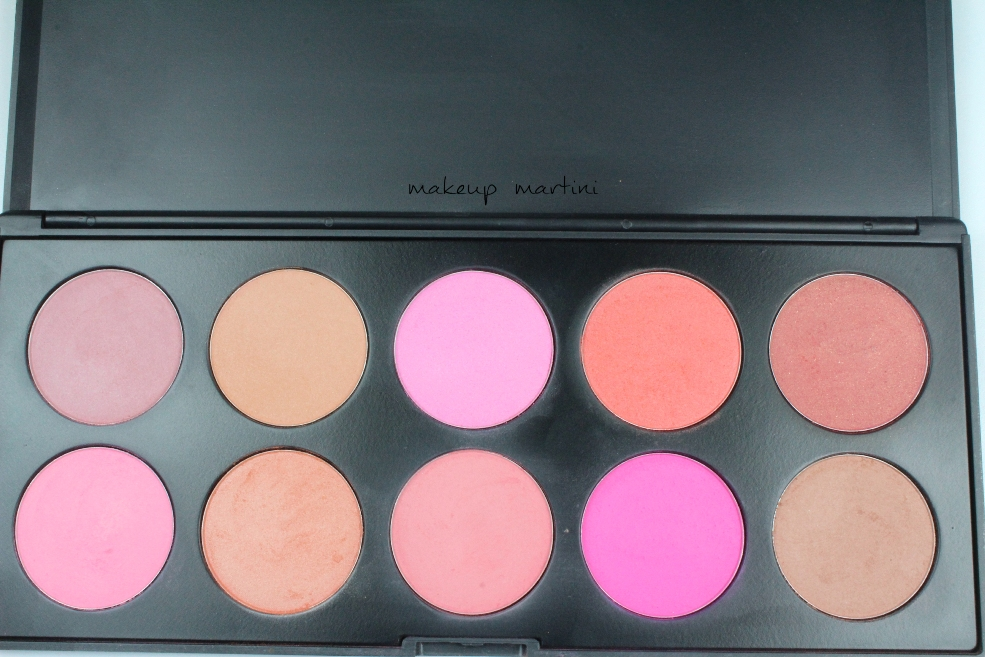 Coastal Scents 10 Blush Palette Review and Price