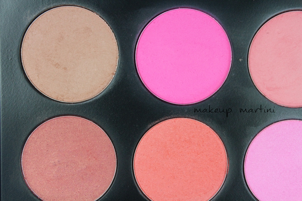 Coastal Scents 10 Blush Palette Shades