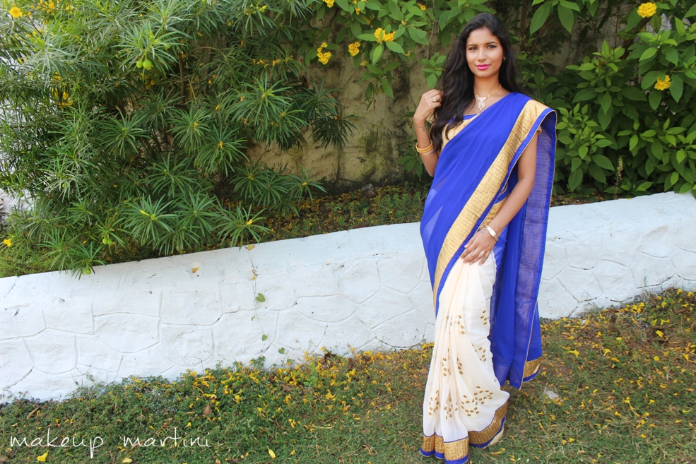 How To Style Saree OOTD