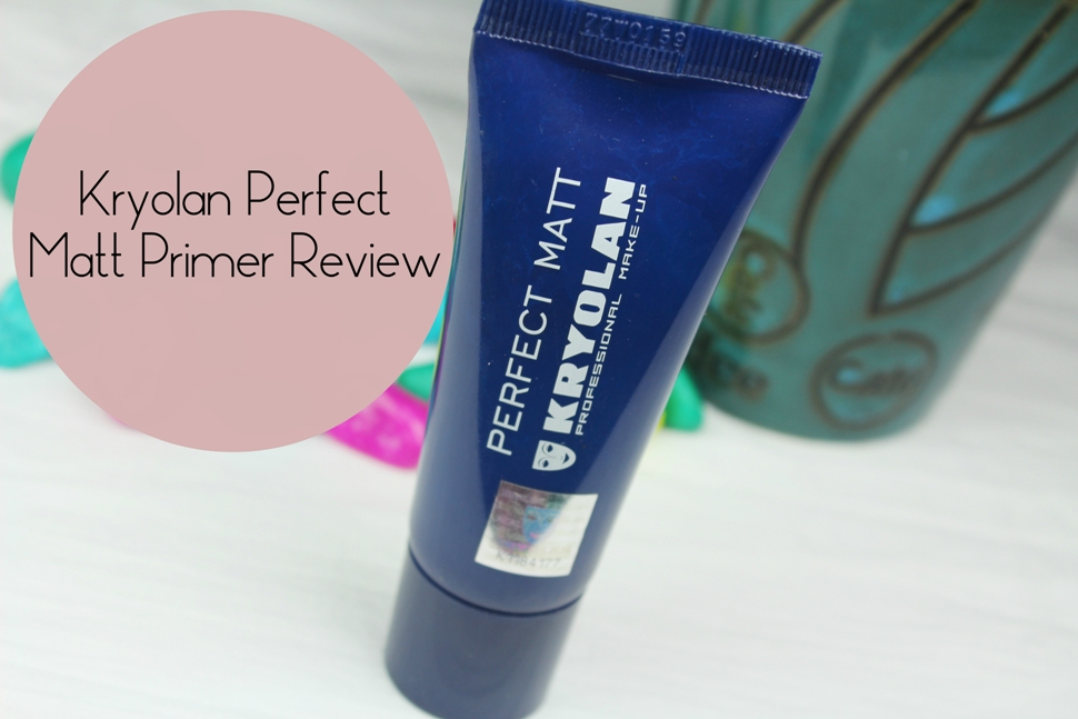 Kryolan Perfect Matt Primer Swatch