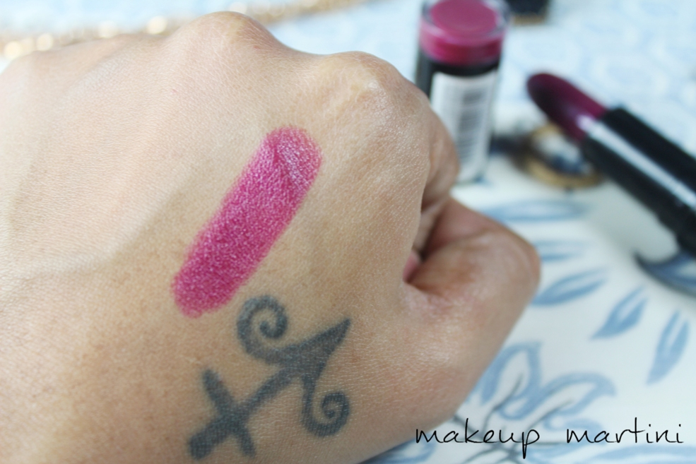 Makeup Revolution Rebel With Cause Lipstick Swatch