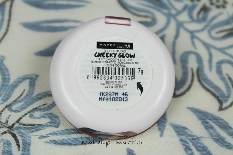 Maybelline Cheeky Glow Packaging