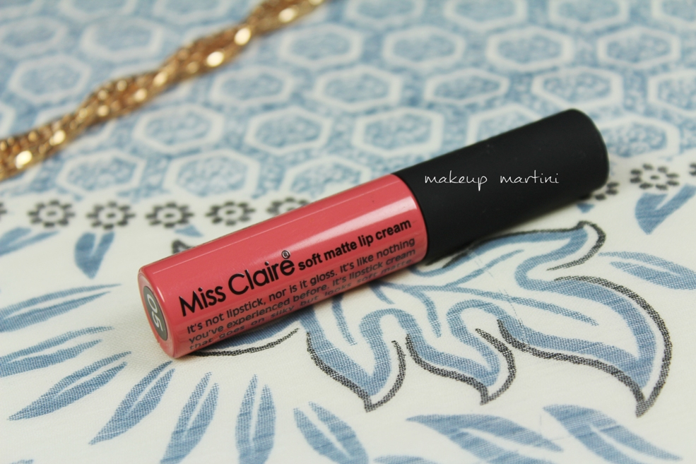 Miss Claire Soft Matte Lip Cream 05 Review