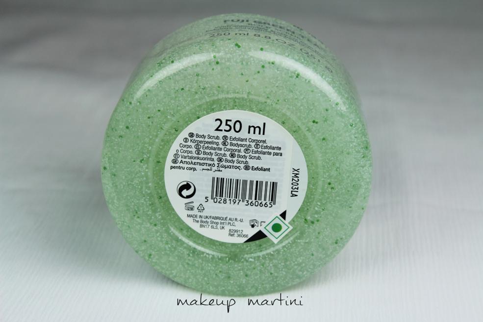 The Body Shop Fuji Green Tea Body Scrub Review