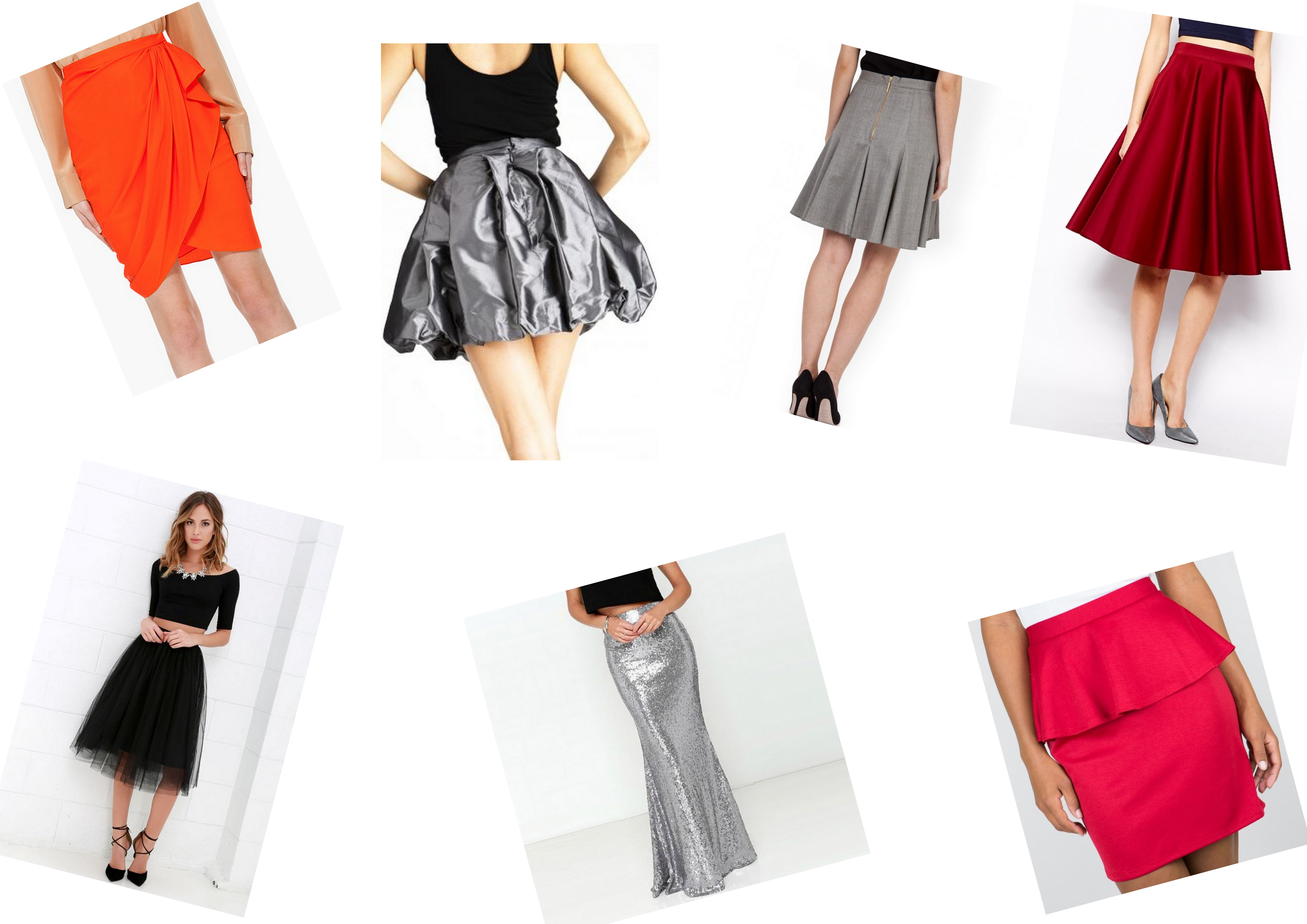 the gallery for gt dress skirt types