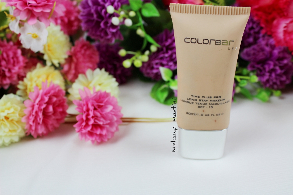 Colorbar Time Plus Pro Long Stay Makeup Review
