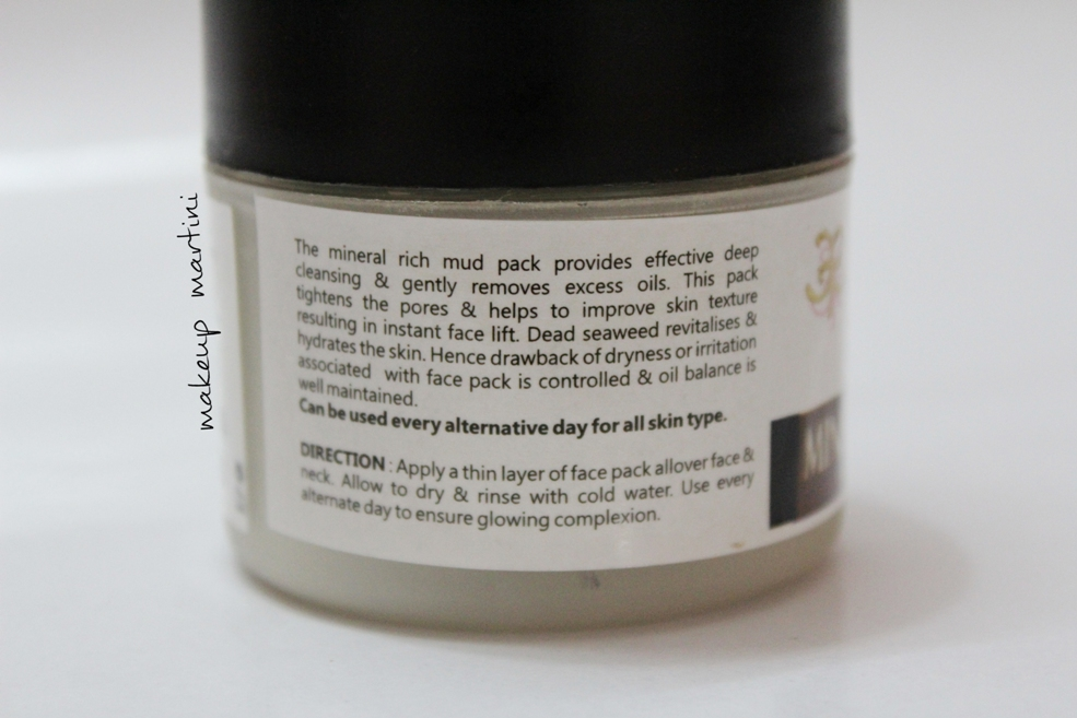 Affordable Face Packs In India: Earth Therapy Mineral Mud Pack