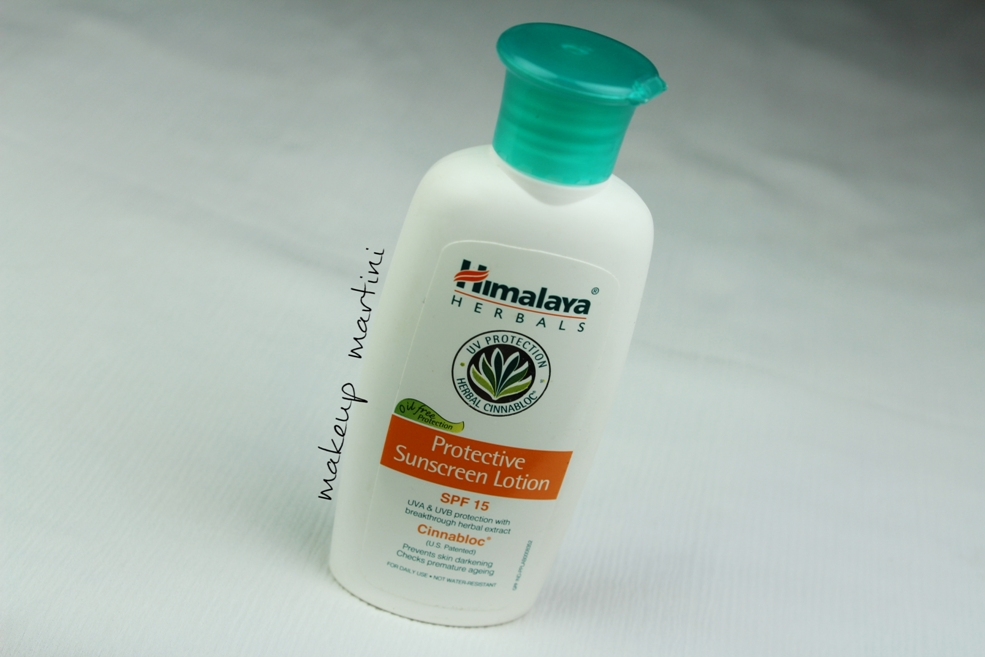 Himalaya Herbals Protective Sunscreen Lotion Review